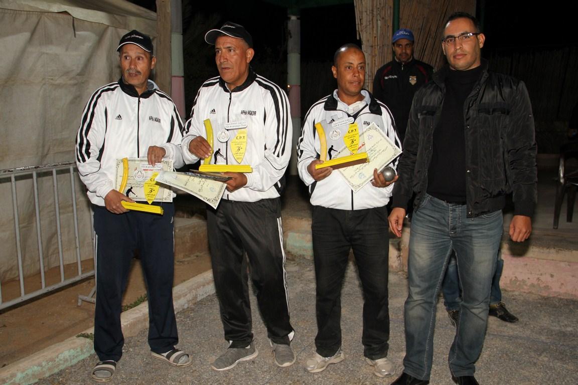 نادي شباب ألوطية طانطان يتوج بطلا للنسخة ال26 للدوري الوطني للكرة الحديدية