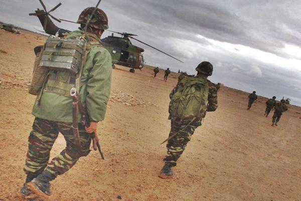 الجيش المغربي يواصل رفع مستوى تأهّب عناصره