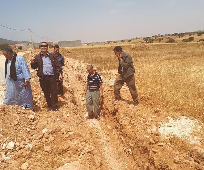 تزويد دواوير بجماعة سيدي بو عبد اللي بالماء الصالح للشرب