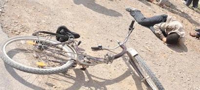 جرح سائق دراجة هوائية في حادثة سير بالطريق الوطنية بين تيزنيت و اكادير