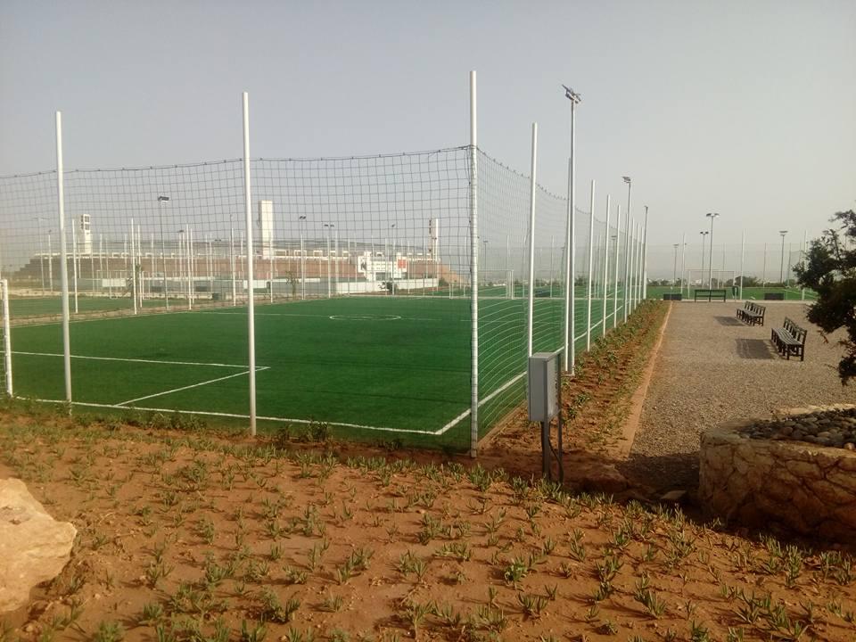 حجي يفتتح أكاديمية لكرة القدم في أكادير + صور