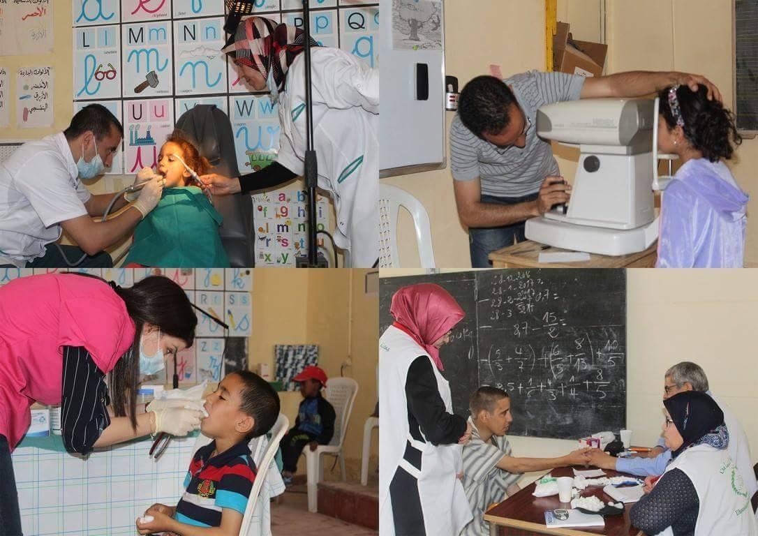 """""""الصحة حق للجميع"""" شعار حملة طبية باولاد جرار"""