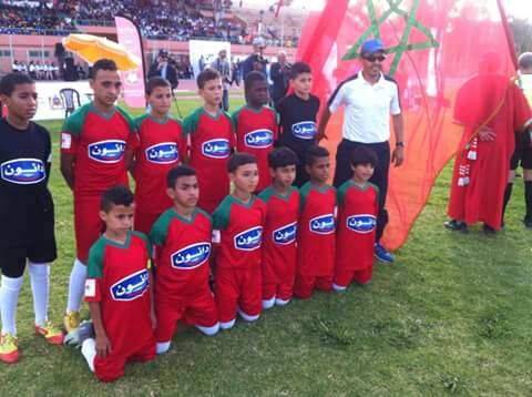 منتخب سوس ماسة براعم يتوج بطلا للمغرب لكأس المدارس دانون لكرة القدم