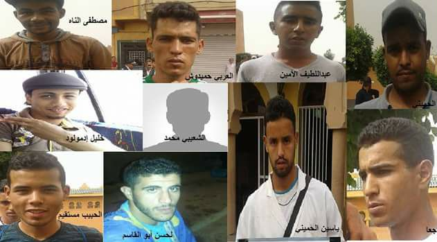 AMDH  تيزنيت تتضامن مع الباعة الجائلين و تطالب بالافراج عن المعتقلين / بيان