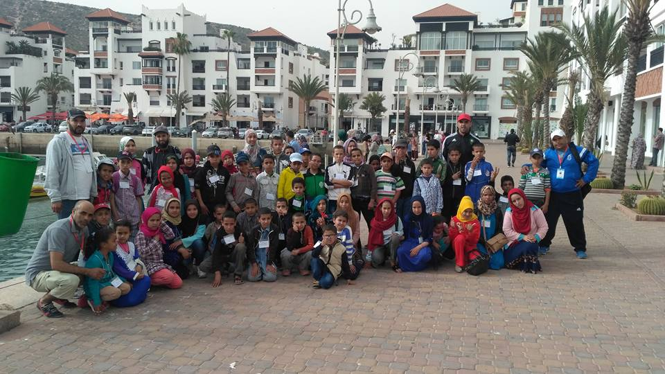 تقرير عن الرحلة التي نظمتها م. م. محمد بن الحسين بالمديرية الإقليمية سيدي افني إلى مدينة اكادير