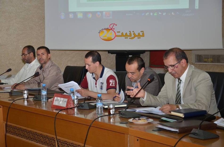 المجلس الاقليمي يعرض مشروع برنامج تنمية الاقليم (2022/2017)