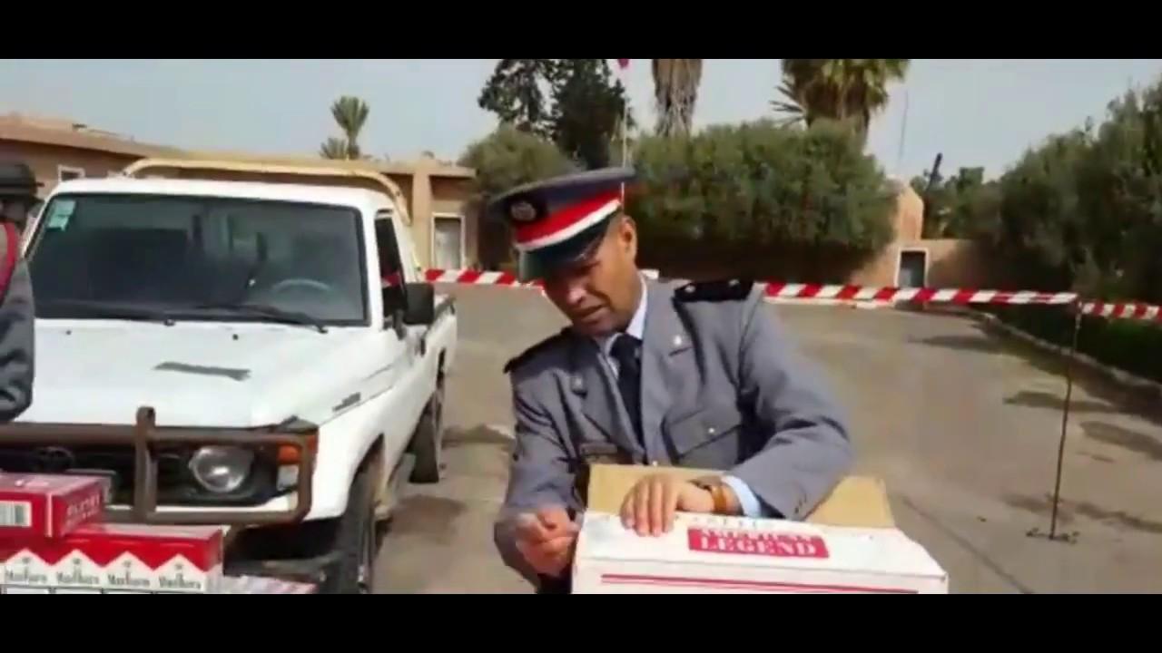 بالفيديو : حجز 28 الف علبة سجائر مهربة بتيزنيت