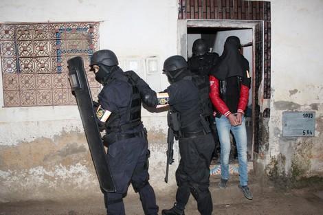 """الأمن المغربي يفكك خلية """"داعشية"""" من 7 أفراد بفاس ومولاي يعقوب"""