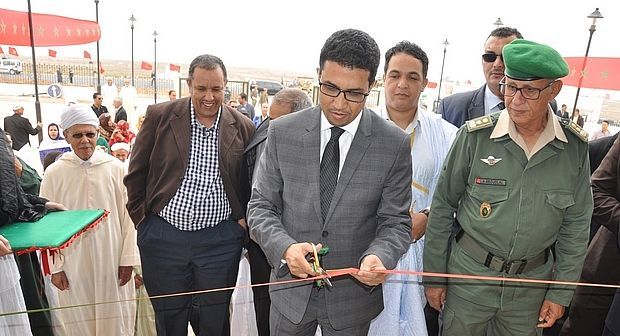 سيدي افني : عامل الإقليم يترأس حفل افتتاح المقر الجديد للعمالة