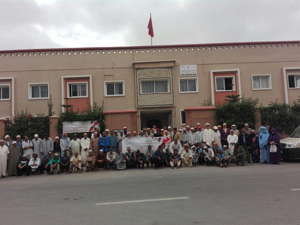 عبد العزيز الابيض رئيسا لجمعية افوس غ افوس لمتطوعي المسيرة الخضراء بتيزنيت