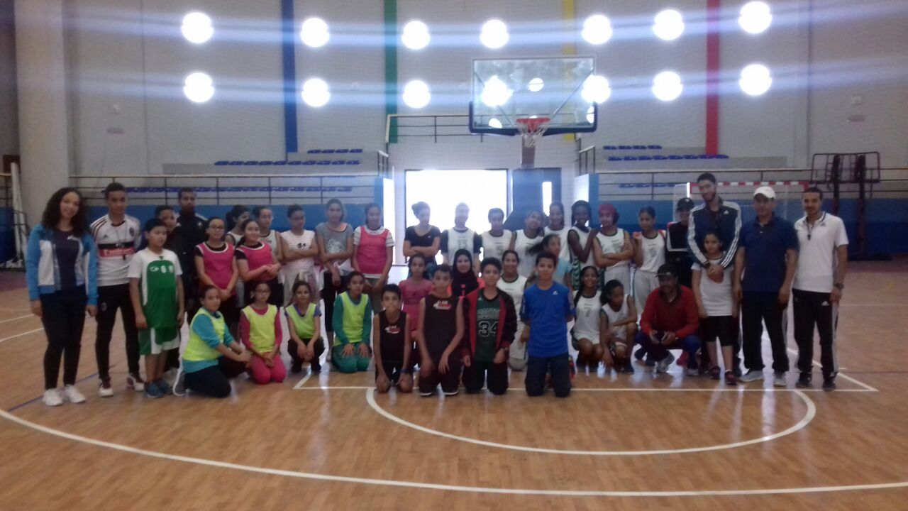 إختتام البطولة الإقليمية لأبطال الحي كرة السلة بتيزنيت