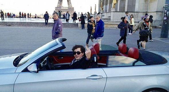 حمزة الدرهم يغادر المغرب نحو فرنسا بعد الاستماع إليه حول القيادة في حالة سُكر