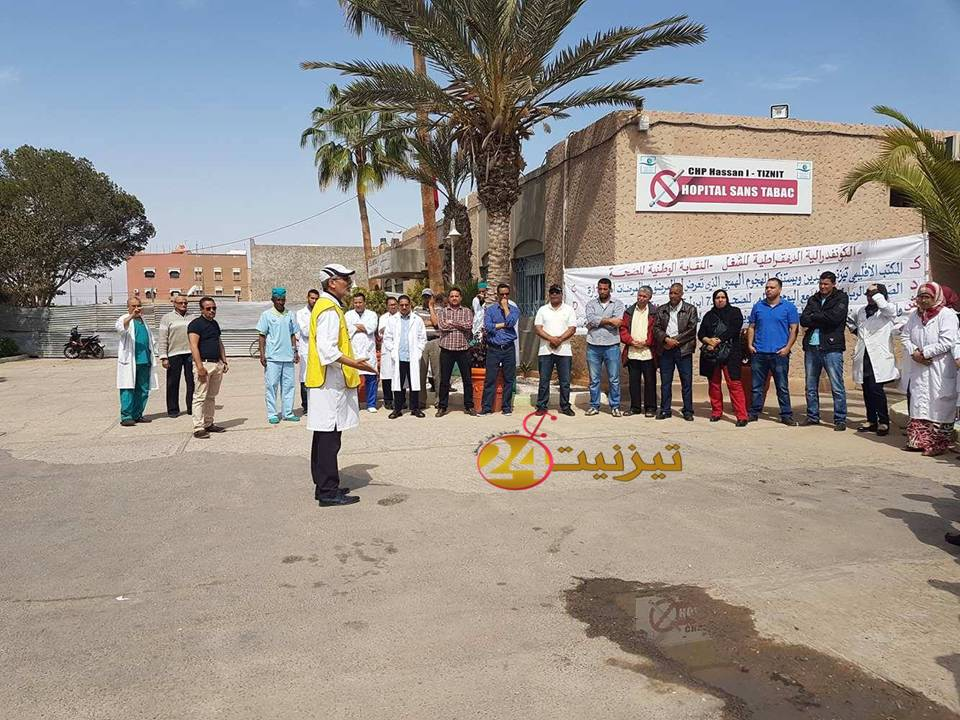 سليمان العمري : سنفتح حربا مع مدير مستشفى تيزنيت + فيديو