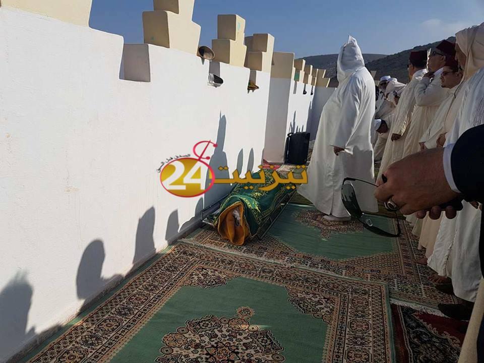جنازة مهيبة للعلامة المرحوم محمد بلمكي البوجرفاوي عميد مدرسة سيدي وكاك