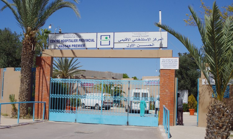 ضغط العمل يدفع طبيب للاعتصام بالمستشفى الاقليمي الحسن الاول بتيزنيت