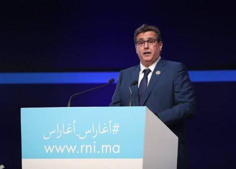في مؤتمر الجديدة .. أخنوش يقطر الشمع على بنكيران ويغازل العثماني