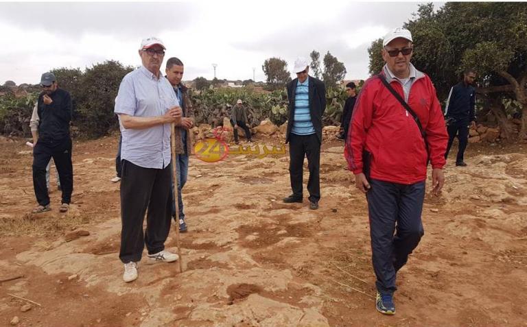 """تقرير عن الرحلة الاستكشافية إلى مواقع النقوش الصخرية بمنطقة """"الكعدة"""""""