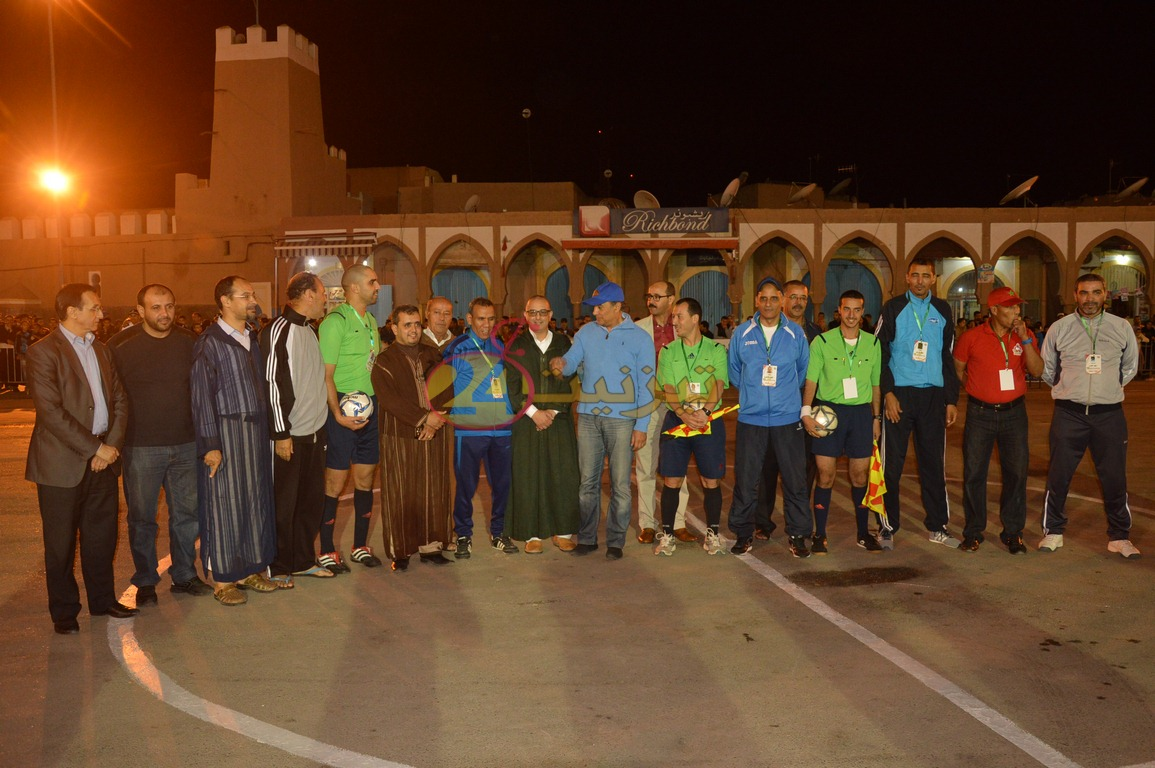 افتتاح الدورة 12 لدوري المرحوم محمد كوسعيد لكرة القدم المصغرة بساحة المشور