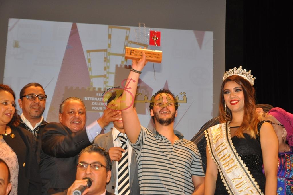 """تتويج فيلم """"le repas"""" بالجائزة الكبرى للدورة 6 للمهرجان الدولي للسينما للجميع بتيزنيت"""