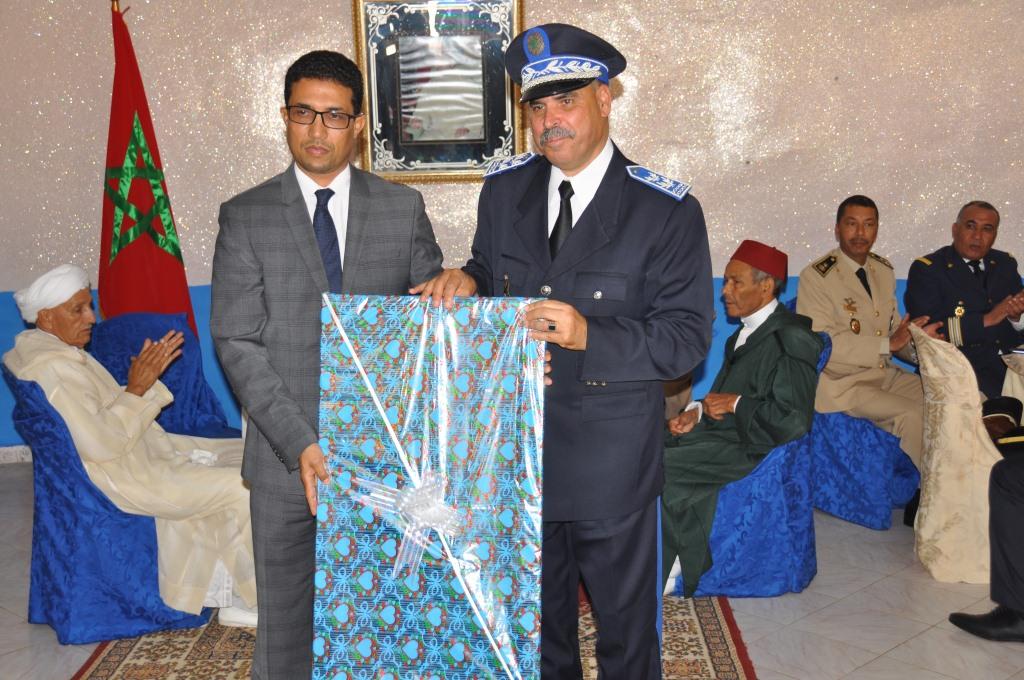 سيدي إفني : عامل الإقليم يترأس الاحتفال بالذكرى الواحدة والستين لتأسيس الأمن الوطني .