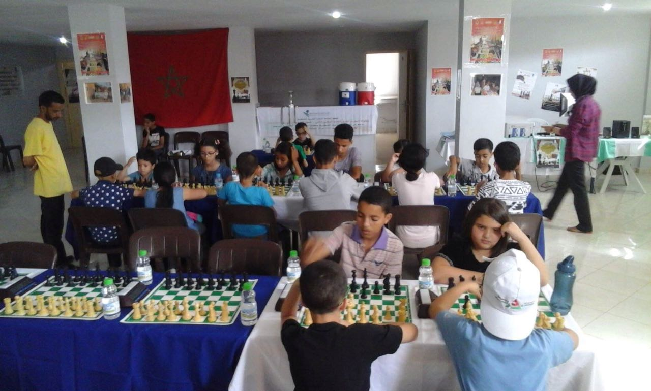 يونس أصواب يتوج بلقب الدوري المحلي للشطرنج بتيزنيت