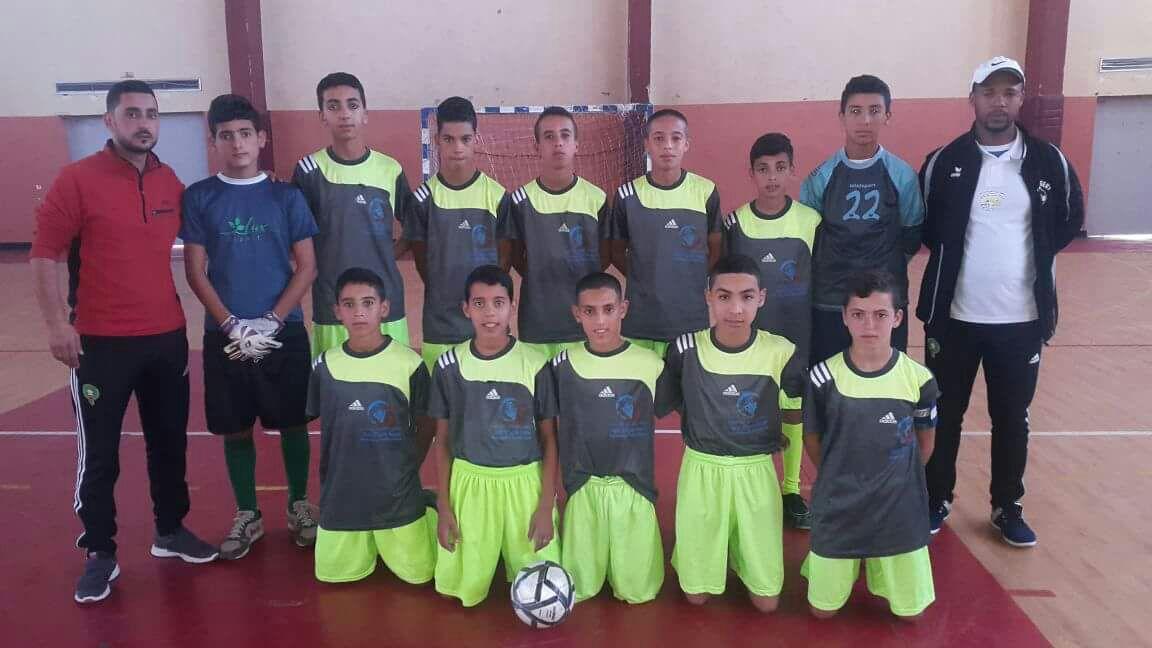صغار تيدوكلا يحققون لقب بطولة عصبة سوس لكرة القدم المصغرة