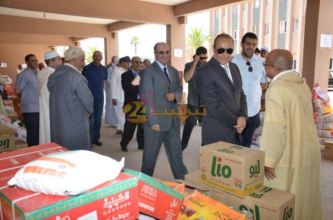 توزيع مساعدات رمضانية لفائدة المدراس العتيقة باقليم تيزنيت