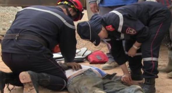 مصرع عامل بعد سقوطه من أعلى ورش بناء بإنزكان