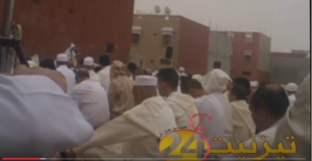 مختل عقلي يفسد صلاة العيد بمصلى حي ادرق بوتاقورت بتيزنيت