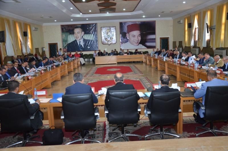 المجلس الإقليمي لتيزنيت يعقد الدورة العادية لشهر يونيو2017.