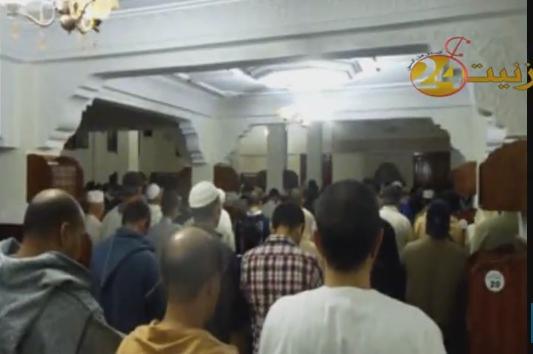 مقتطف من تراويح مسجد الرحمة بتيزنيت