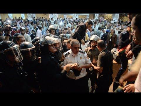 نقابة شباط تعرض شريط تدخل الأمن خلال مؤتمره في منظمة العمل الدولي بجنيف