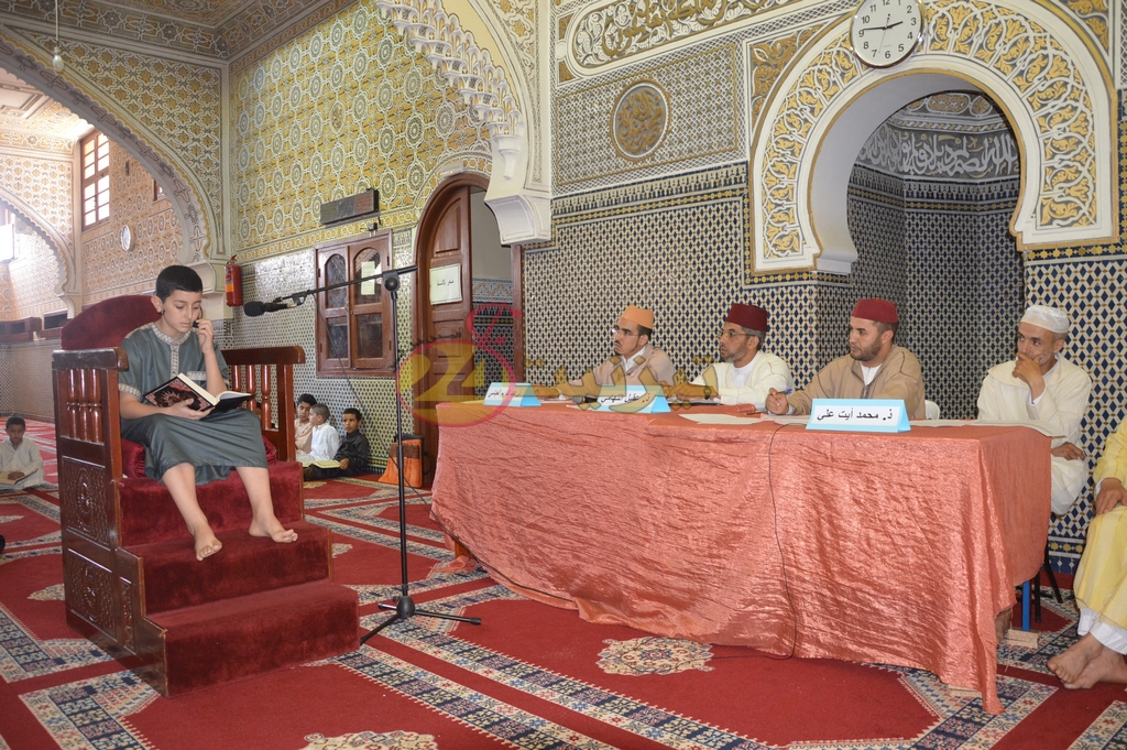 نتائج مسابقة حفظ القران و تجويده المنظم بمسجد السنة بتيزنيت + صور