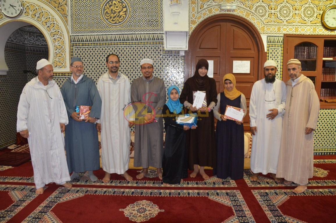 جمعية رعاية مسجد السنة تكرم المتفوقين في مسابقة حفظ و تجويد القران الكريم