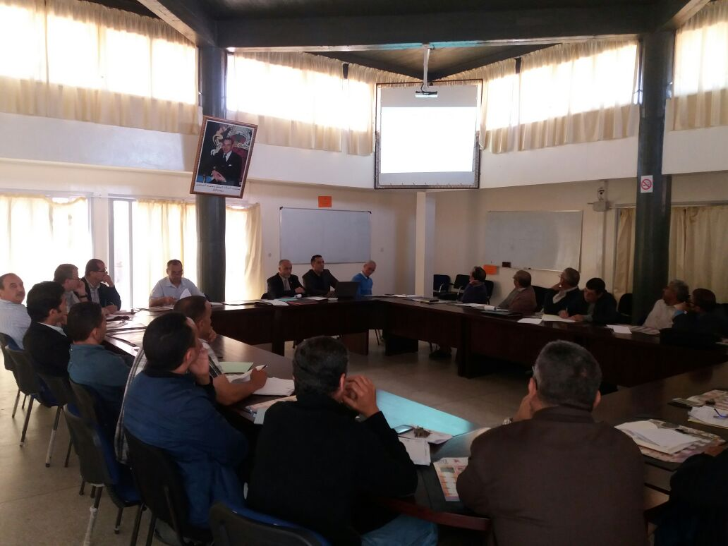 لقاء تواصلي اقليمي حول المشروع المندمج رقم8 بالمديرية الاقليمية لتيزنيت