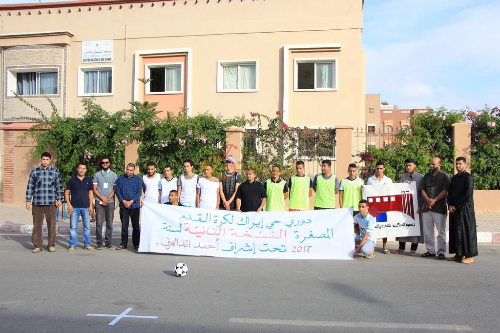 انطلاق النسخة الثانية من دوري حي ايراك لكرة القدم المصغرة