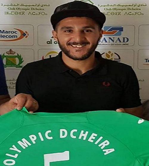 اللاعب نورالدين كوماح ابن مدينة تيزنيت يتعاقد مع أولمبيك الدشيرة لكرة القدم