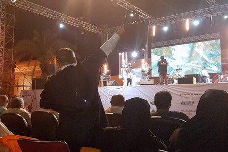 زينة الداودية تلهب حماس جمهور منصة مهرجان تيفاوين بتافراوت