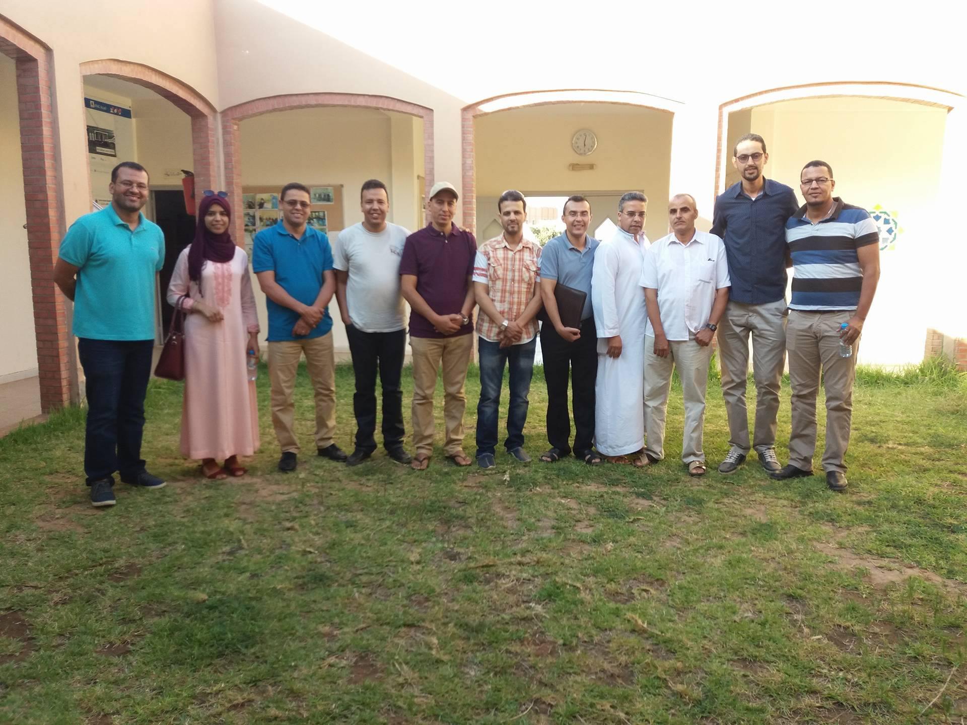 تجديد الثقة في الاستاذ ابراهيم الكبوس رئيسا للجمعية المغربية لأساتذة اللغة الانجليزية فرع تيزنيت
