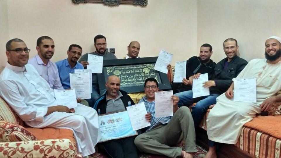 تكريم مدير مجموعة مدارس محمد بن الحسين بمناسبة انتهاء مهامه في تسيير المؤسسة