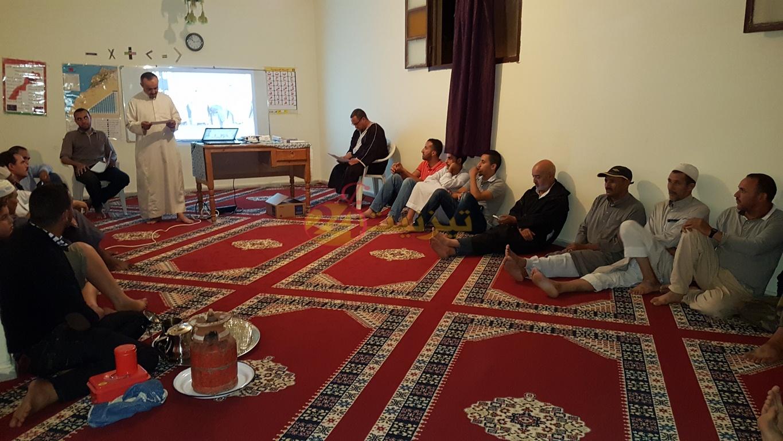 تجديد الثقة في الحسين بن السيد رئيسا لجمعية اديعيش + صور
