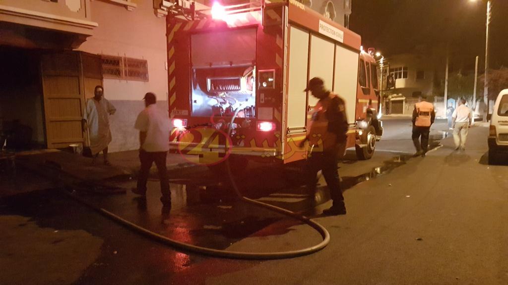 """""""فران"""" يتسبب في اندلاع حريق بأحد المنازل بتيزنيت"""