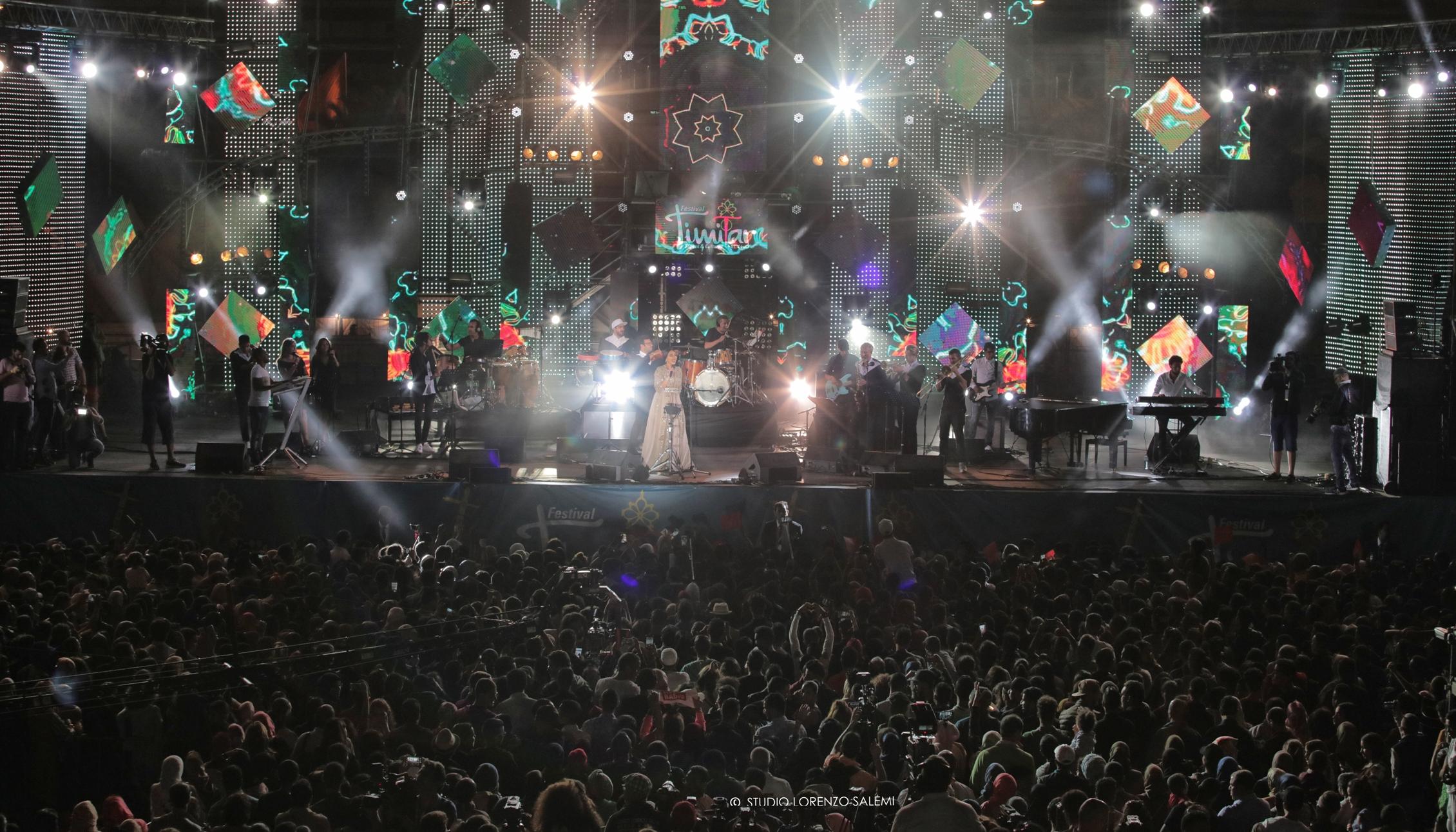 250 ألف يحضرون الحفل الختامي للدورة الرابعة عشر لمهرجان تيميتار