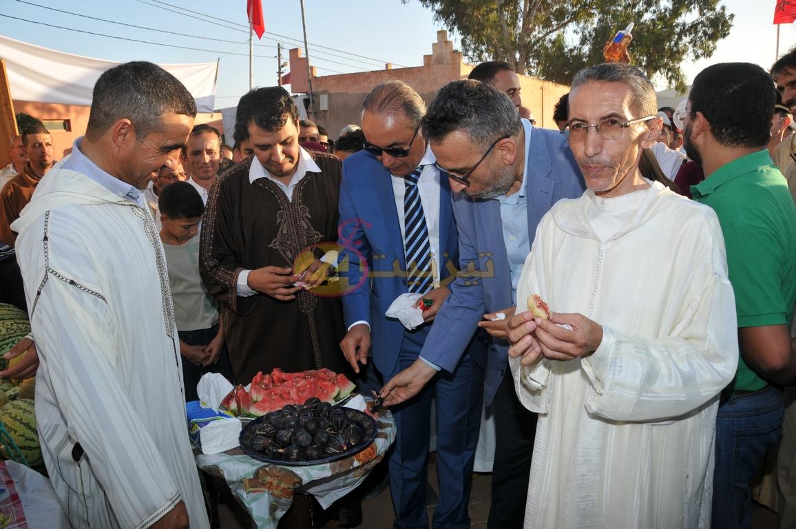 افتتاح مهرجان دلاح بجماعة رسموكة