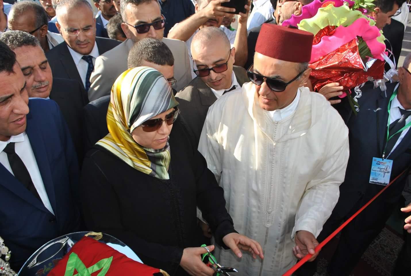 المصلي واليزيدي يفتتحان مهرجان تيميزار بتزنيت