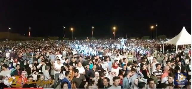 فيديو : جماهير مهرجان تيميزار