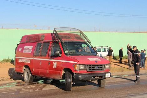 حافلة تقتل سائق دراجة نارية دهسا في اشتوكة