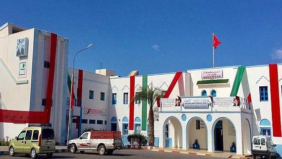 سيدي إيفني:شكاوى من نصب منصة مهرجان قوافل بالقرب من المستشفى