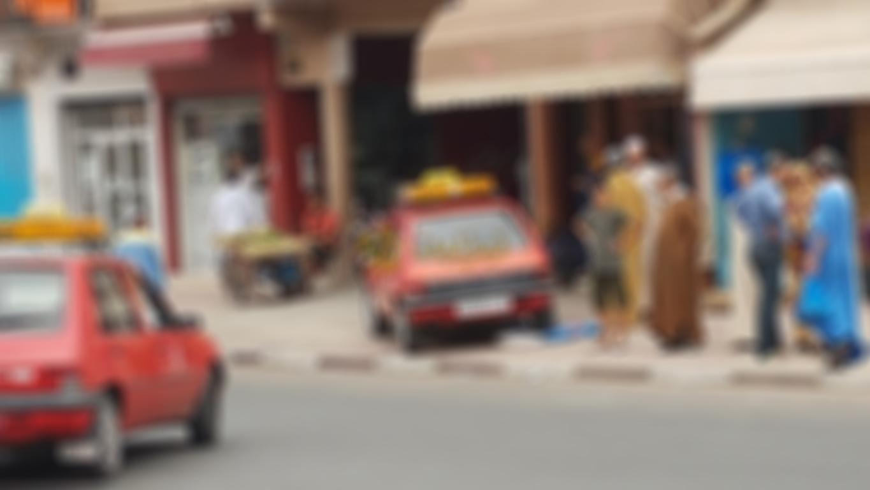 حادثة سير بشارع محمد الخامس تخلف جرح امراة