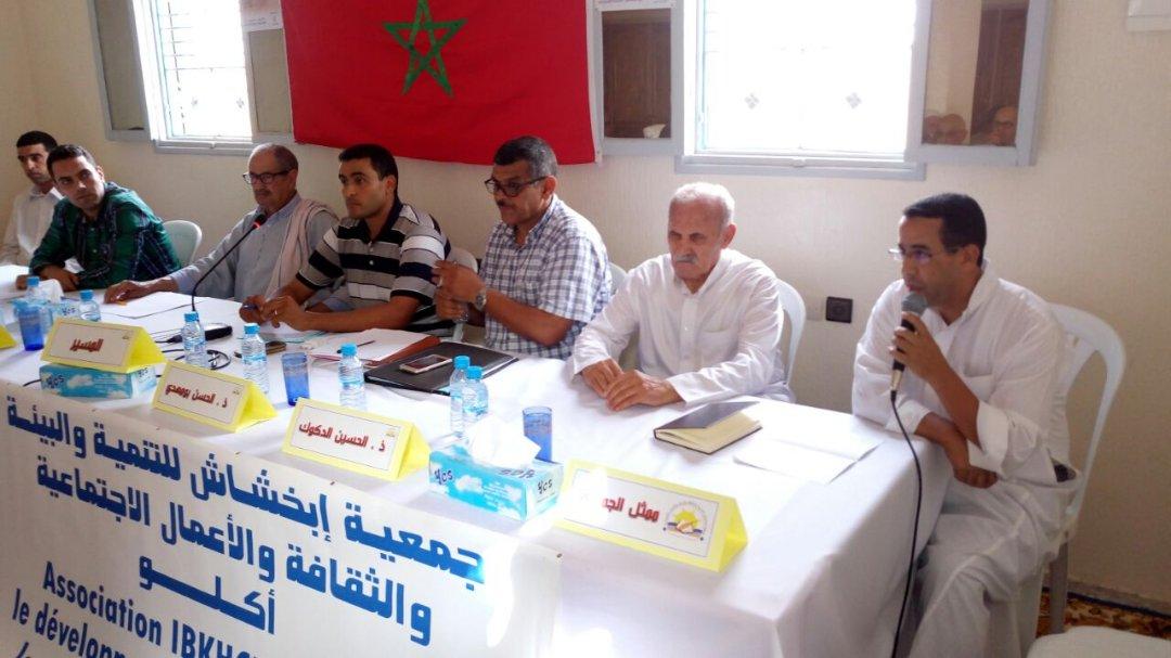 جمعية ابخشاش أكلو تحتفي بالمهاجر المحلي في عيده الوطني